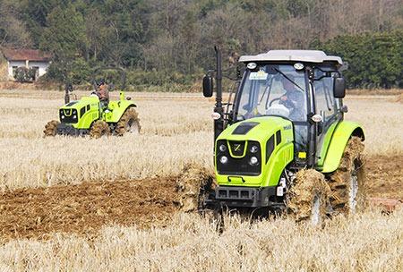 tractor 100 hp 4x4 chery  tipo deutz con pala