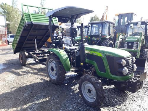 tractor 42 hp 4x4 con pala omar martin