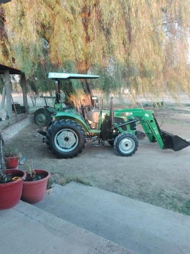 tractor 4x4 cabinado con pala incluida tipo omar martin