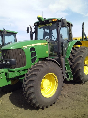 tractor 6180j con 3puntos usado