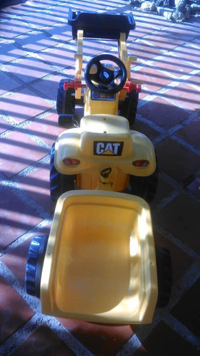 tractor a pedal payloader caterpillar