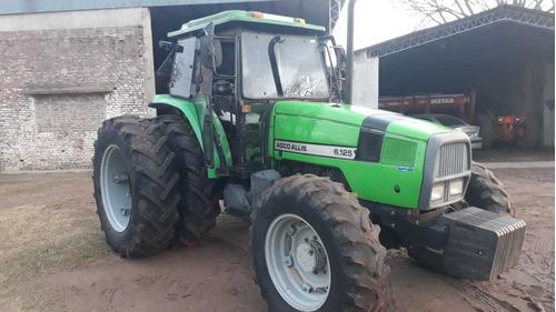 tractor agco allis 6.125 doble tracción con duales    tpea