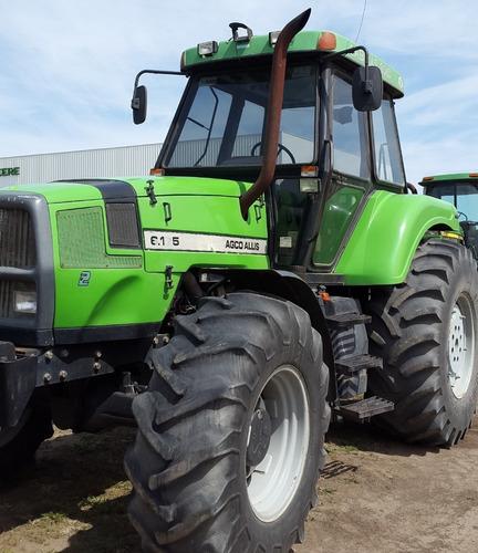 tractor agco allis 6.175, cabina c/aire y piloto, 2005