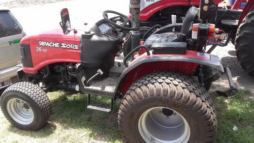 tractor agricola 26 hp levante  apache rodado parquero