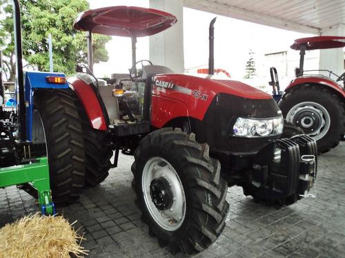 tractor agrícola case farmall 75 jx 4wd nuevo