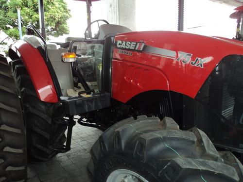 tractor agrícola case farmall jx 75 4wd nuevo