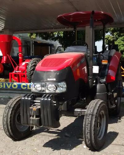 tractor agrícola case jx75 2wd angosto