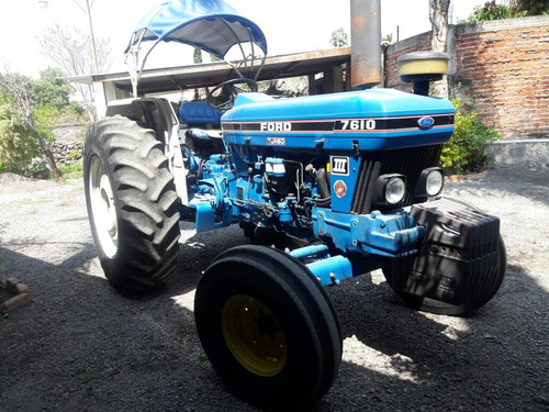tractor agricola ford 7610 turbo iii