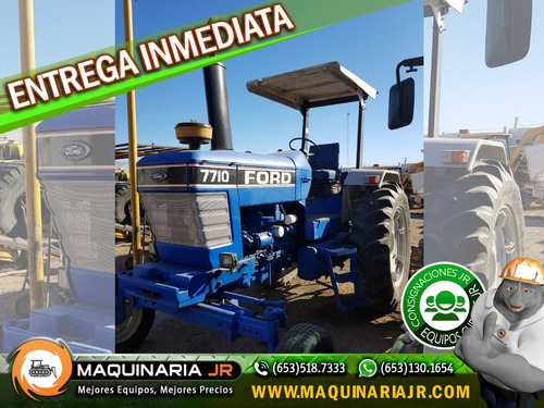 tractor agricola ford 7710, tractores agricolas