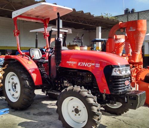 tractor agrícola harvest king hk554 seminuevo