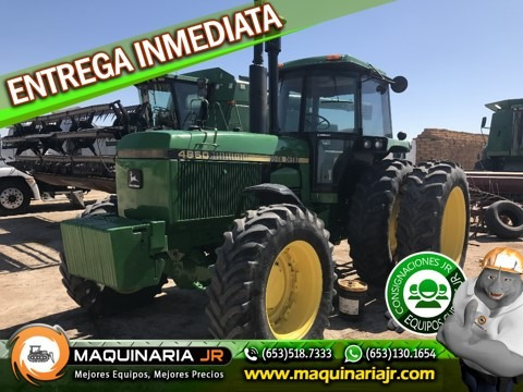 tractor agricola john deere 1988 4850,tractores agricolas