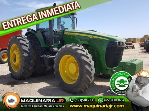 tractor agricola jonh deere 8520, maquinaria agricola