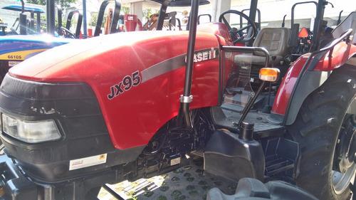 tractor agrícola marca case jx 95 seminuevo