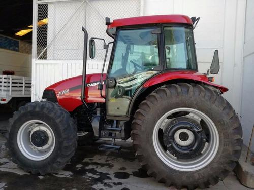 tractor agrícola marca case jx95 con cabina seminuevo