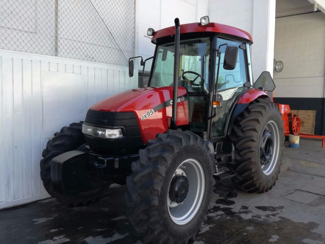 Tractor agr cola marca case jx95 con cabina seminuevo for Cabina come case