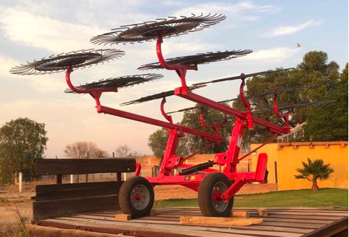 tractor agricola mf1512 rastrillo 12 soles flexible nuevo