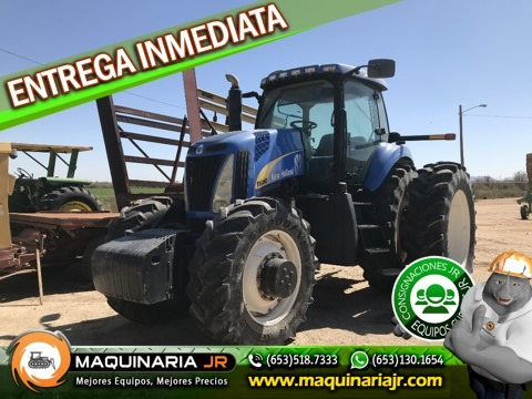 tractor agricola new holland 2008 t8050,tractores agricolas