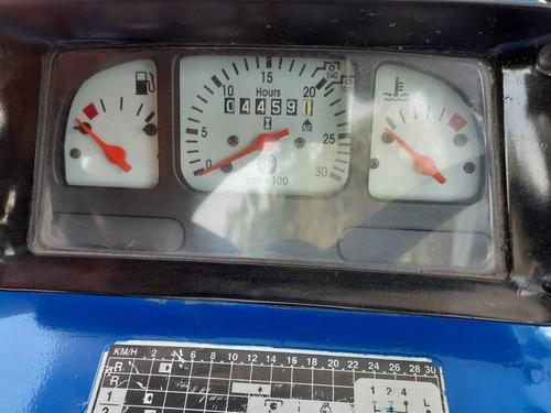 tractor agrícola new holland 7610 2wd año 2008 uso