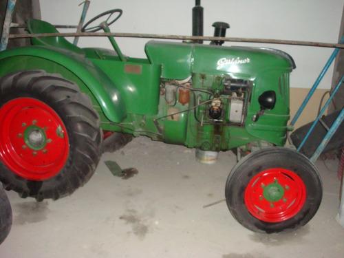 tractor antiguo guldner aleman