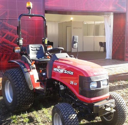 tractor apache 26gt 4wd motor mitsubishi doble tracción