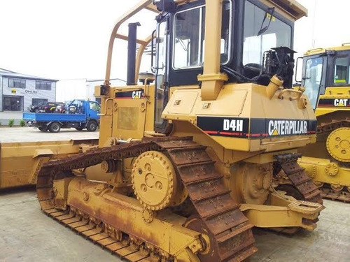 tractor bulldozer caterpillar d4h