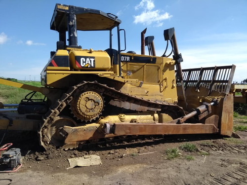 tractor caterpillar d7r año 2000