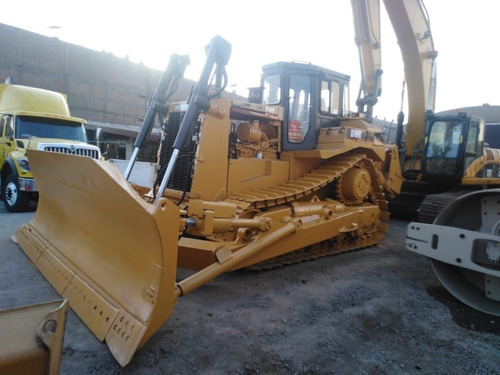 tractor caterpillar d8r con ripper y lampon angulable