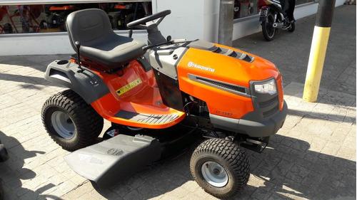 tractor césped husqvarna en 12 cuotas o valores mafferetti