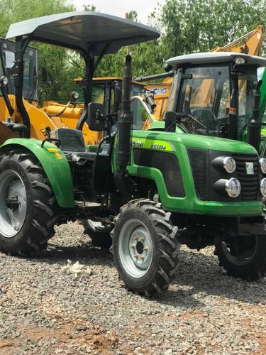 tractor con pala de 42 hp doble tracción tipo john deere