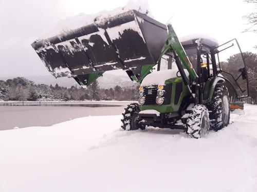 tractor con pala omar martin 75 hp 4x4