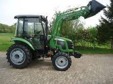 tractor con pala tipo omar martin 50 hp 4x4 agricola