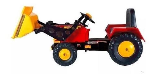 tractor con pedal a cadena master con pala biemme babymovil