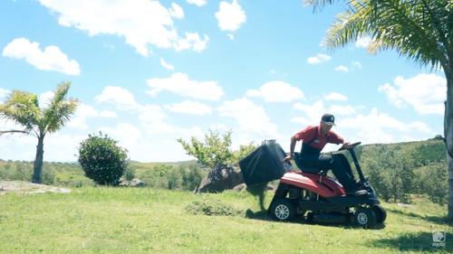 tractor corta cesped equus motor loncin 6.5hp 61cm