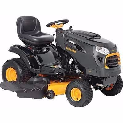 tractor corta cesped poulan pro 19,5 hp 46 pulgadas