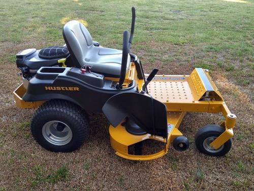 tractor corta pasto hustler usa 1.32 mts - radio giro cero.