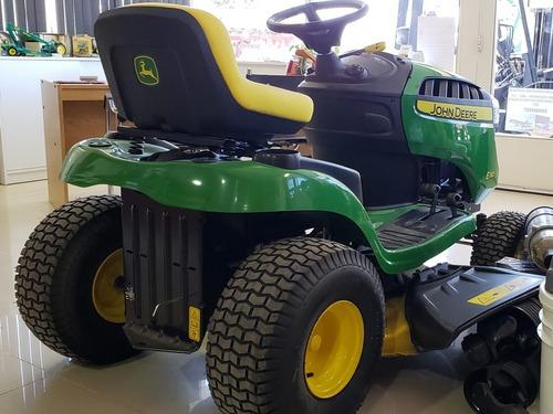 tractor cortacésped john deere e110