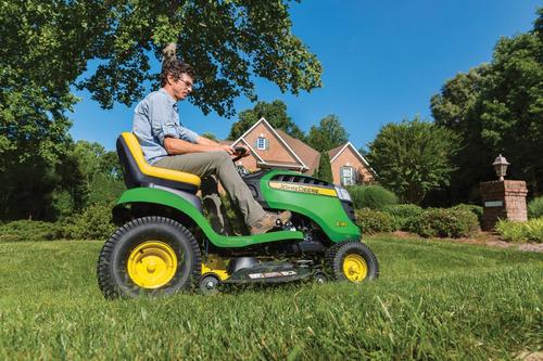 tractor cortacesped john deere e140