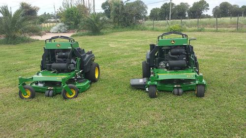 tractor cortapasto giro cero john deere quiktrak 647