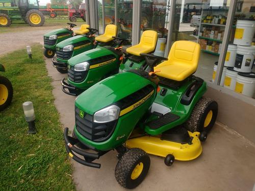 tractor de jardin john deere e140