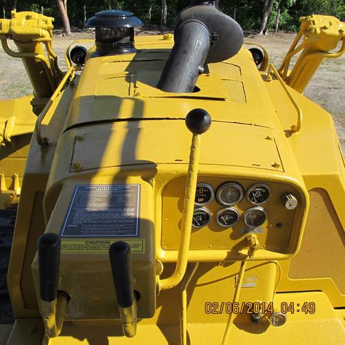 tractor de orugas caterpillar modelo d8k