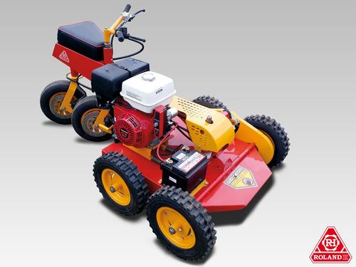 tractor desmalezador roland h001 tracción 6x4 c/ honda 13 hp