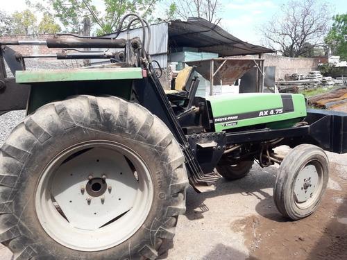 tractor deutz ax4.75 con pala invertida