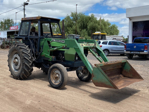 tractor deutz fahr ax 100 con pala frontal