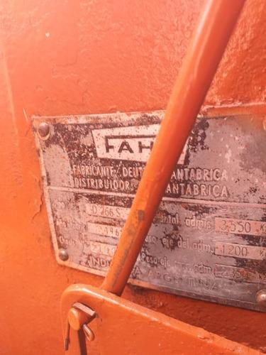 tractor deutz fhar d266 agrícola cortadora ambos exelentes