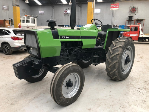 tractor deutzax80 con levante y toma de fuerza independiente