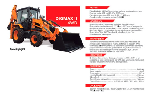 tractor digmax ii 4wd