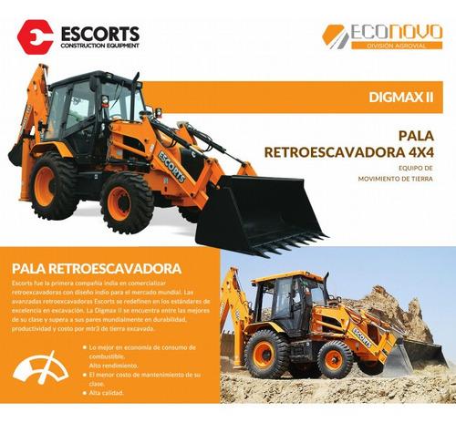 tractor digmax ii 4wd    - precio de contado -