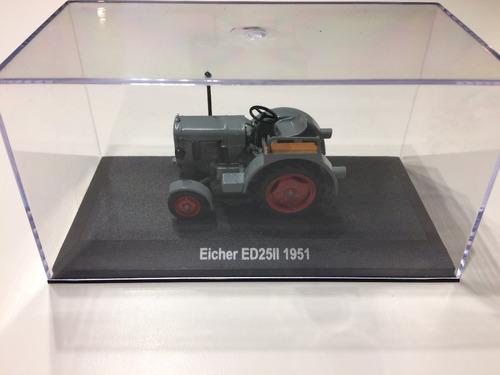 tractor escala 1/43 eicher ed25ii #4 hachette alemania