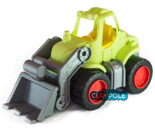 tractor excavadora con pala - duravit - 38 cms
