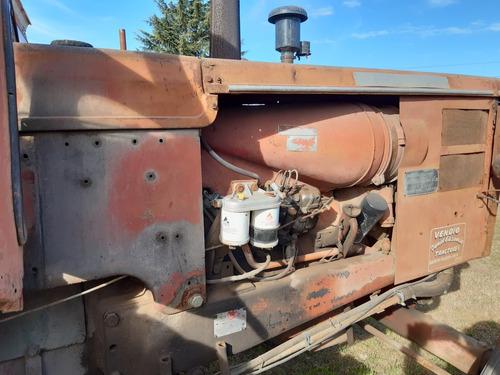 tractor fahr 85 con hidráulico